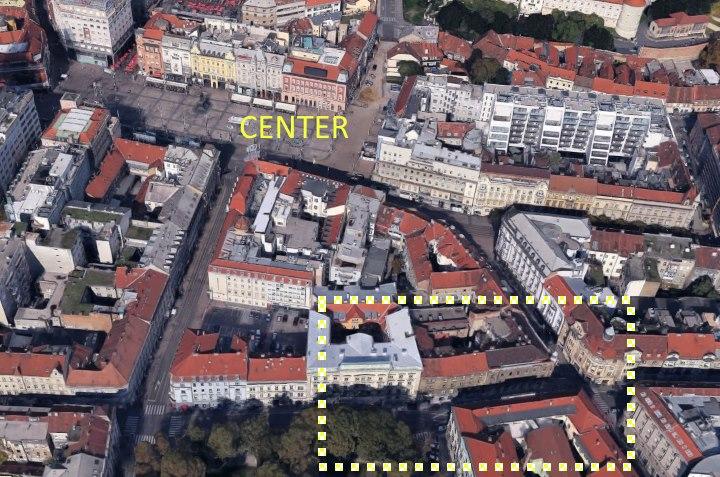 Strogi centar Zagreba, 4 studio apartmana