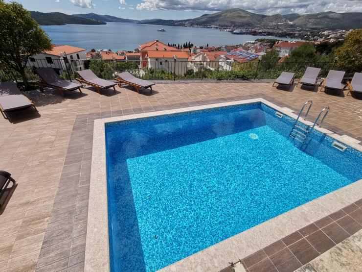 Apartman Trogir, pogled na more