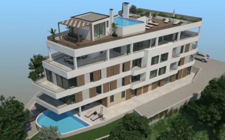 Apartmani na moru, Trogir Čiovo